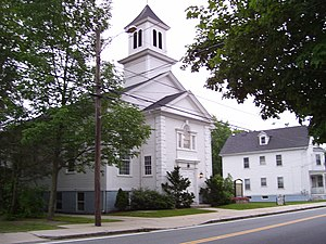 Smithville – North Scituate, Rhode Island - North Scituate Baptist Church in 2008