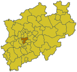 Mettmann (district) - Image: North rhine w me