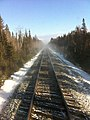 Northern Ontario railway tracks January 2011.jpg