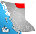 Northern Rockies Regional District, British Columbia Location.png