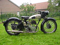 Norton Big Four (633 cc) uit 1933