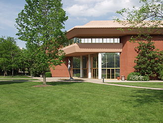 Centre College - Built in 1973, the Norton Center for the Arts was designed by the Frank Lloyd Wright Foundation.