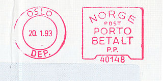Norway stamp type Porto Betalt 1.jpg