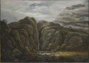 Norwegian Mountain Landscape (Johan Christian Dahl) - Nationalmuseum - 19981.tif