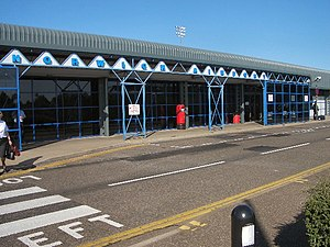 Norwich Airport - Image: Norwich Airport geograph.org.uk 22532