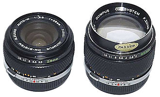 Olympus Corporation - Olympus OM Lenses