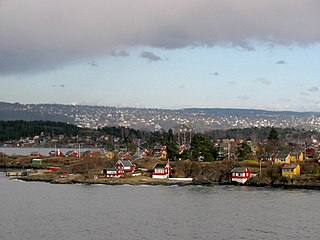 Oslofjord fjord in southern Norway, with Oslo bordering the fjord