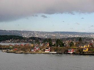 Oslofjord - Summer houses in the Oslofjord