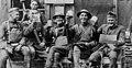 Officers celebrate at captured German canteen, Cedar Creek & Belle Grove National Historical Park, 1918. (8b5a3fbd47b24e96a6c40a73f62f3ed7).jpg