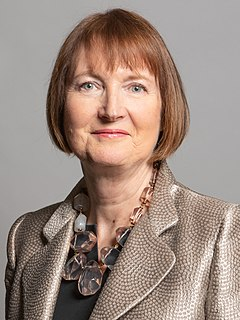 Harriet Harman Former Deputy Leader of the British Labour Party, MP for Camberwell and Peckham