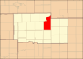 Ogle County Illinois Map Highlighting Marion Township.png
