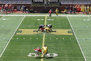 Ohio State Buckeyes men's lacrosse - Image: Ohio State vs. Michigan men's lacrosse 2015 11