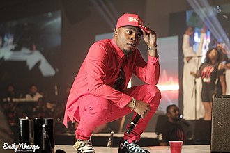 Olamide - Olamide performing at the first edition of his OLIC concert.