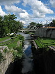 Old Erie Canal Lock Eastern Mohawk River area NY 8756 (4854459868).jpg