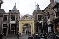 Old gate of the 12th century towngate Leiden - panoramio.jpg