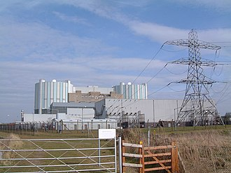 Oldbury Nuclear Power Station - Image: Oldbury Nuclear Power Station