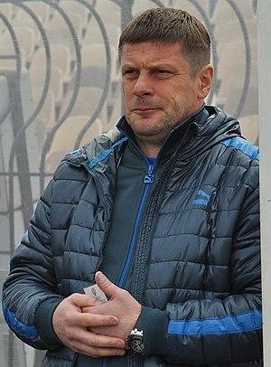 Oleh Luzhny - Luzhny while at a game