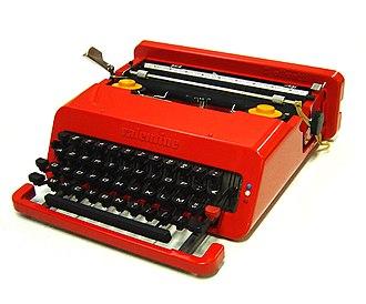 Ettore Sottsass - Typewriter Valentine (1969)