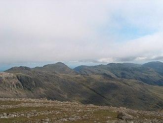 Ill Crag - On the Ill Crag plateau
