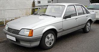 GM V platform (1966) - Opel Rekord E (1982–1986)