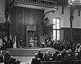 Opening Staten Generaal. Troonrede wordt voorgelezen door koningin Juliana, Bestanddeelnr 934-5238.jpg