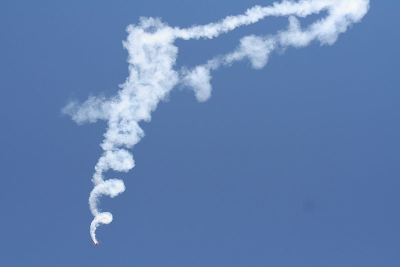 File:Oracle plane downward spiral smoke.jpg