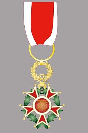 Order of the Brilliant Star of Zanzibar - Image: Order of the Brilliant Star of Zanzibar II grade Officer badge