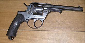 1872 Swiss revolver - Revolver Model 1872