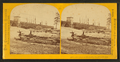 Ore Dock at Escanaba, length 1300 feet, by Carbutt, John, 1832-1905.png