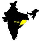 Verbreitungsgebiet von Oriya
