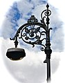Ornate Lamp Standards with Shamrocks in Georgian Dublin. - panoramio.jpg