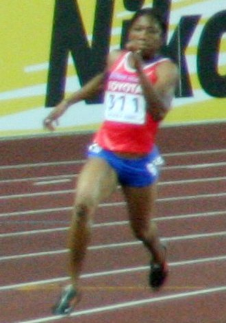 Cydonie Mothersille - Mothersille at the 2007 World Athletic Championships in Osaka