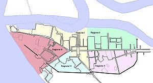 Ostia Antica - Map of Ostia Antica.