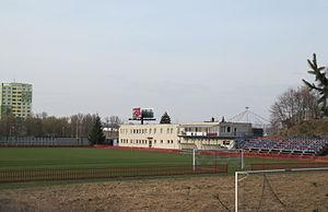 FC Viktoria Otrokovice - Stadium of FC Viktoria Otrokovice.