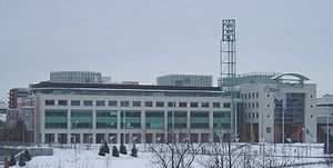 Ottawa's City Hall, headquarters to the munici...