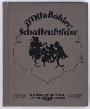 Otto Böhler - Cover of Dr. Otto Böhler's Schattenbilder