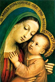 Image result for Our Lady of Good Counsel