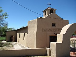 Our Lady of Mt. Carmel Church, North Valley New Mexico.jpg