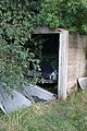 Overgrown garage and car at Snitterfield, Oxfordshire - geograph.org.uk - 1481630.jpg