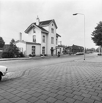 Best railway station - Best railway station, 1973