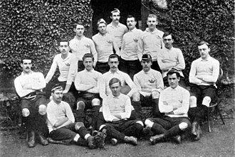 William Bromet - Bromet with the 1889 Oxford Varsity team, Bromet is back row, standing second from left