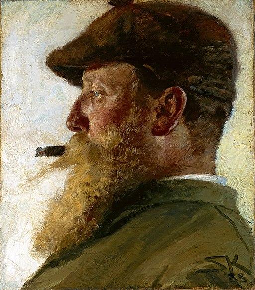 P.S. Krøyer - Christian Krohg - Google Art Project