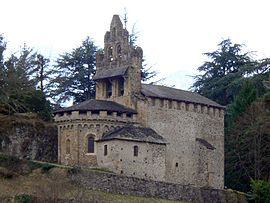 The chapel in Castillon-en-Couserans