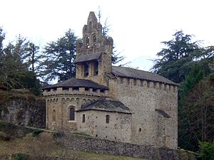 Castillon-en-Couserans - The chapel in Castillon-en-Couserans