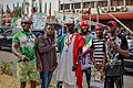 PDP supporters in Wadata plaza, Abuja.jpg