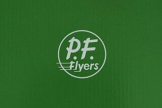 PF Flyers - Image: PF F Lyers Logo