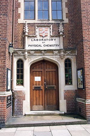 Department of Chemistry, University of Cambridge - Old Physical Chemistry Laboratory Cambridge