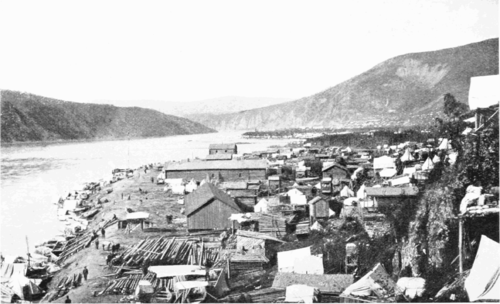 PSM V55 D176 Dawson and klondike city in 1898.png