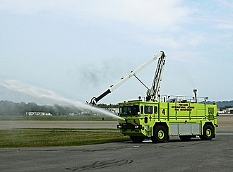 Portland International Jetport - PWM Fire Department demonstration, 2005.