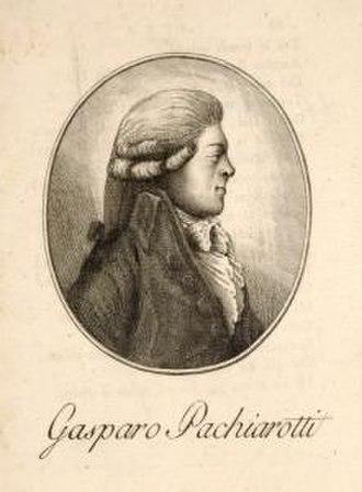 Gaspare Pacchierotti - Gaspare Pacchierotti